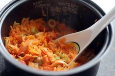 Coconut & Lime // Rachel Rappaport: Rice Cooker Arroz Con Pollo