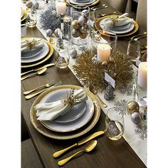 Shimmer Salad Silver | Crate and Barrel