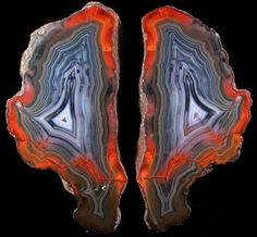 Photographs of mineral No. Condor Agate from San Rafael District, Mendoza Province, Argentina