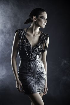 "Dress by Zyanya Keizer Fall 2011 ""Ocultos entre el bosque"""