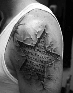Cool 3D tattoo