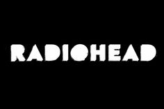 Radiohead logo 2016 in white