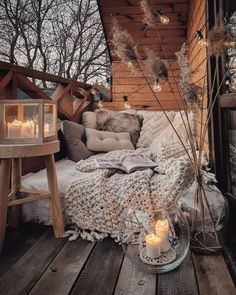 Small Balcony Decor, Cozy Corner, Cozy Room, Balcony Garden, Outdoor Balcony, My New Room, Home Fashion, My Dream Home, Future House