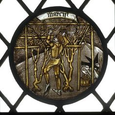 Labours of the Months; Month of March (Panel)