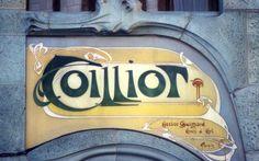 Hector Guimard (1867-1942). Maison Coilliot. 1898. 14 rue de Fleurus - Lille - France