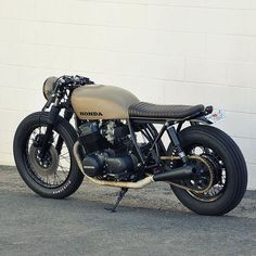 Honda CB750 By @seaweedandgravel // caferacernation.co // #caferacer