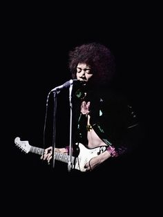 Jimi Hendrix at Saville Theatre London, 1967