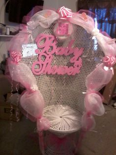 Baby shower chair rental for info please call 845-538-2618