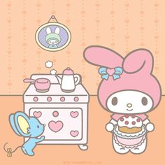 #MyMelody and #Flat bake up a treat