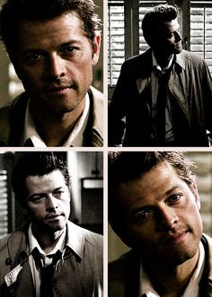 """Castiel way back when he was a rugged soldier from Heaven. When his smiles were threatening. Are You There, God? It's Me, Dean Winchester. """"I'm not here to perch on your shoulder. Castiel, Supernatural, Jim Beaver, Mark Pellegrino, Mark Sheppard, Sam Dean, Jared Padalecki, Misha Collins, Love Affair"""