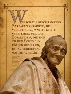 'Was Voltaire verachtet' von Dirk h. Wendt bei artflakes.com als Poster oder Kunstdruck $16.99