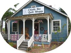 Thistle Bee Quilt Shoppe in Goldsboro, NC. I had the good fortune of writing about this fantastic shop for Quilt Sampler magazine.