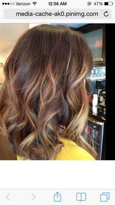 highlights that start lower instead of at roots so I can touch up sparkles at root