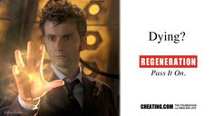 Doctor Who PSAs - Dying? Pass It On.