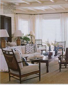 British Colonial inspired beach house