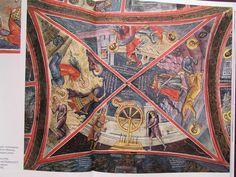 453 Fresco, Bohemian Rug, Quilts, Blanket, Rugs, Home Decor, Art, Byzantine, Farmhouse Rugs