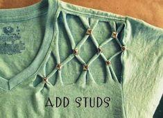 Vamos ensinar como fazer customização de roupas, tudo passo a passo. Você vai…
