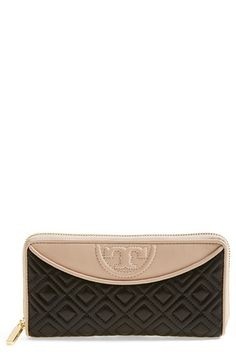 Tory Burch 'Fleming' Continental Wallet available at #Nordstrom