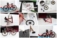 Anniversary Cake and Gumpaste Bicycle http://www.sweetdreamscakeapp.com/2013/04/17/anniversary-cake-and-gumpaste-bicycle-tutorial/#comment-17880