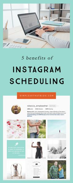 5 Benefits of Scheduling Instagram Posts // Utilizing a scheduler for social media posting has been a small, but pivotal way I've been able to save time and energy when it comes to blogging.