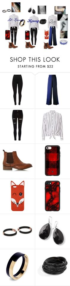 """""""Block B Cover Group"""" by shes-kinda-hot on Polyvore featuring Ports 1961, River Island, Equipment, Dune, Casetify, Maison Kitsuné, Ippolita and Marni"""
