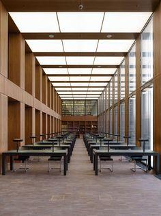 Max Dudler Architekt, Stefan Müller, George Messaritakis · Jacob and Wilhelm Grimm Centre. Berlin · Divisare
