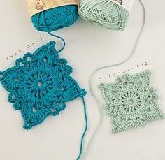 Bees and Appletrees (BLOG): mooie gehaakte granny - pretty crochet granny