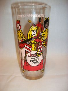 Josie and the Pussycats cup - $8.50
