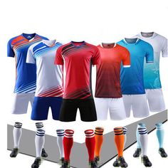 Wholesale Cool Dry Customized Color Soccer Jersey Set For Unisex.2018 Word cup teamwear#wordcup#teamwear#t-shirts#soccershirts#football
