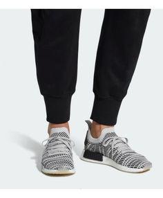 2c5f05baa9 Adidas NMD R1 STLT Primeknit Grey Black Mens Shoes Cheap Adidas Nmd