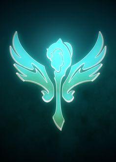 Support by Christopher Sanabria League Of Legends Poster, League Of Legends Support, League Of Legends Video, Lol League Of Legends, Legend Symbol, Cool Symbols, Final Fantasy Artwork, Mobile Legend Wallpaper, Champions League Of Legends