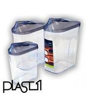 Plast1 3-osainen rasiasarja 5,70 e