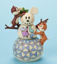 Jim Shore Disney Chip and Dale