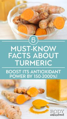 Turmeric is a powerful medicinal spice with potent antioxidant and anti-inflammatory properties. But there are some key facts to know to get all of the health benefits you're after! #ad in partnership with iHerb. #naturalremedy #turmeric #superfood