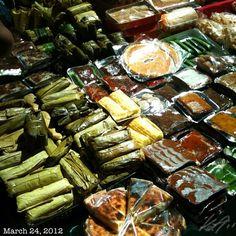 おやつ #snack #food #philippines Filipino Desserts, Filipino Recipes, Asian Recipes, Filipino Food, Dessert Dishes, Dessert Table, Rice Desserts, Philippine Cuisine, Portable Food