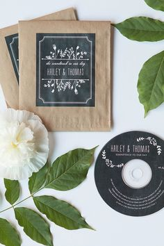 CD Wedding Favors | Evermine Weddings | evermine.com