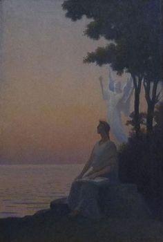 L'inspiration - 1927 Alphonse Osbert