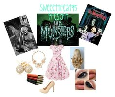 """The Munster """"Marilyn"""" by sweeettreat95 on Polyvore featuring polyvore fashion style Charlotte Russe Loushelou Gemma Simone Pinetti clothing themunster marilynmunster"""