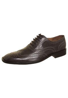 Sapato Social Rich Recorte Marrom Escuro