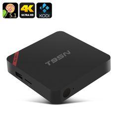 T95N-MINI MX+ Android TV Box - 4K, Android 6.0, Amlogic S905X, Kodi, HDMI, 1GB RAM + 8GB Memory