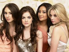 """I admire Troian Bellisario, Lucy Hale, Shay Mitchell and Ashley Benson because they simply do it so great in """"Pretty Little Liars."""" They have managed to make the series exciting and really good. They deliver impressive all four. <3 :-)"""