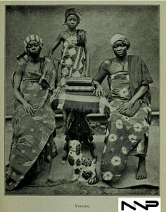 #PeopleOfNigeria | 19th century | Yoruba women and girl in Nigeria | Source: West African studies : with additional chapters byKingsley, Mary Henrietta 1862-1900 Published 1901| in Nigerian Nostalgia Project Nigerian Culture, African Culture, Nigerian Fashion Designers, African American Art, South Pacific, Little Princess, 18th Century, African Fashion, Nostalgia