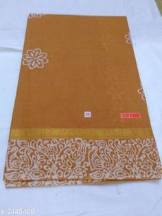 Gitashri Attractive Pure Cotton Women's Sarees Vol 3 Fabric: Saree - Pure Cotton, Blouse - Pure Cotton Size: Saree Length With Running Bl. Cotton Sarees Online, Cotton Silk, Cod, Pure Products, Fabric, Prints, Free, Jewelry, Tejido