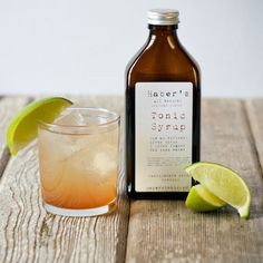 Haber's Tonic Syrup was born out of curiosity. A connoisseur of gin and tonic was simply seeking the best he could find. Tonic Syrup, Artisan Food, Spices And Herbs, Pink Drinks, Drink Specials, Gin And Tonic, Gourmet Recipes, Drink Recipes, Non Alcoholic