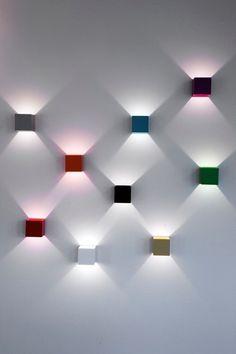 Lux Wall Lamp by Kristján Kristjánsson