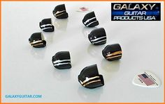 #1 Professional Guitar Finger Protectors. Galaxy Guitar Products USA New Stealth Force FT-1 Finger Protectors. galaxyguitar.com Guitar Fingers, Guitar Rack, Unique Guitars, Racking System, Guitar Accessories, Extensions, Guitar Stand, Hair Extensions, Sew Ins