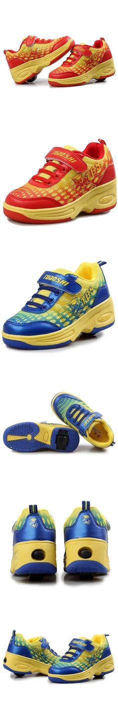 Child Heelys Sneakers with Wheels Roller Skate Sneakers Children Sport Shoe Summer Autumn Top Quality Kid Shoe Zapatillas Ruedas