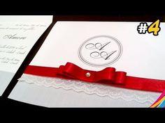 Convite de Casamento / Wedding Invitation / Invitacion de la Boda DIY #4 - YouTube