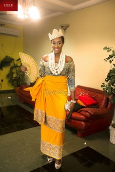 African Fashion – Designer Fashion Tips Nigerian Wedding Dress, African Wedding Attire, Nigerian Bride, African Attire, African Wear, African Traditional Wedding Dress, Traditional Wedding Attire, Traditional Outfits, Latest African Fashion Dresses