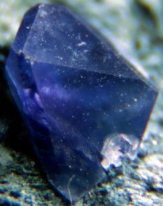 Benitoite crystal. http://www.gemstonesadvisor.com/most-expensive-gemstones-in-the-world/